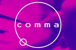 comma-music logo