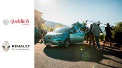 100% véhicules électriques grâce à Renault et Publicis Conseil