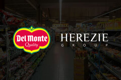 Del Monte® chooses HEREZIE for their canned fruits European campaign