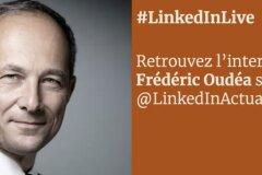 Frédéric Oudéa en live sur LinkedIn avec Brainsonic Event