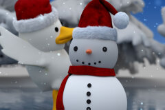 "PluckStudio Launches Animation Division with ""Duck & Snowman's Christmas Adventure"""