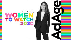 "Alexandra Evan, nommée ""Women To Watch Europe 2020"" par Ad Age"