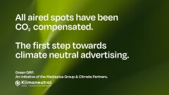 """""""World's First Carbon Neutral Ad Breaks"""": Mediaplus promotes climate-neutral advertising on World Environment Day"""