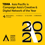 TBWA\Asia Pacific Swoops Double Network Of The Year Titles At Campaign Asia Agency Of The Year Awards 2020