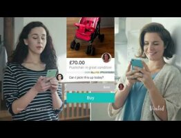 Commercial Voiceover for Vinted app - UK Version