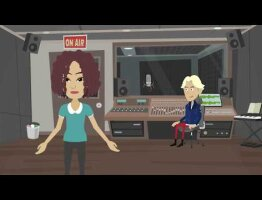 British Voiceover Donna Louise Bryan, promotional explainer video