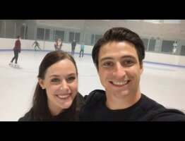 Tessa & Scott Spread Some Cheer #BeTheCheer