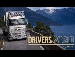 Volvo Trucks - Transporting live fish through the Norwegian fjords – Driver's World (EP12)