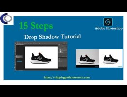 15 General Steps: How to Make Drop Shadow Effect in Photoshop