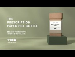 The Prescription Paper Pill Bottle