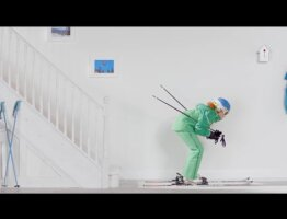 skier  TVC/Commercial