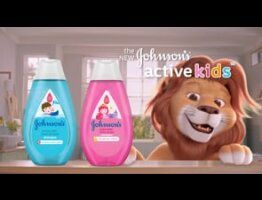 J&J Active Kids Wash