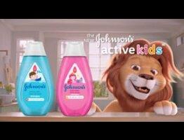 J&J Active Kids Wash