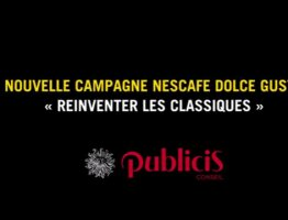"""NESCAFÉ Dolce Gusto """"Réinventer les Classiques"""" - Interview de l'équipe Publicis Conseil"""