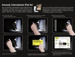 Amnesty iPad Ad