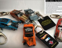 Don't Drink and Drive Key Chains