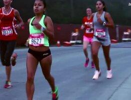 Nike Motivational Experience at the San Francisco Women's Half Marathon