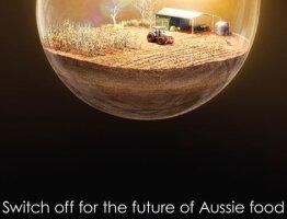 Aussie food in a lightbulb