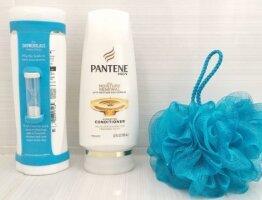 Pantene Pro-V ShowerGlass set