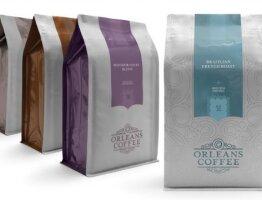 Orleans Coffee Packaging Design