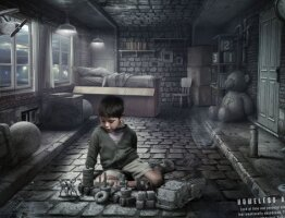 Homeless at home (Boy)