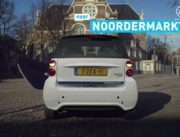 car2go NDSM to Noordermarkt
