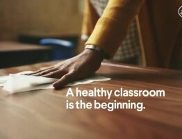 A Healthy Classroom is the Beginning. - Clorox Commercial