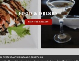 Squarespace Web Design For Restaurant Bar