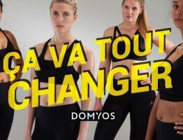 Campagne lancement de produit Domyos