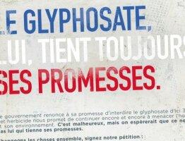Le glyphosate, lui, tient toujours ses promesses