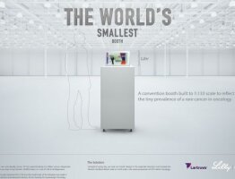 The World's Smallest Booth
