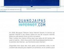 #QuandJaiPasInternet