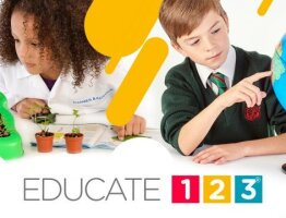 Educate 123 Visual Identity Design