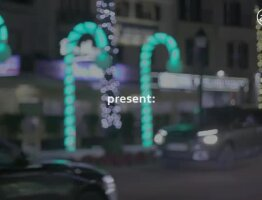 Christmas Traffic Lights