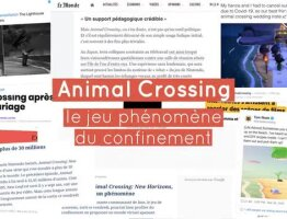 Nouvelle collection dans Animal Crossing©