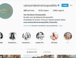 Online Marketing and Social media at van Wonderen
