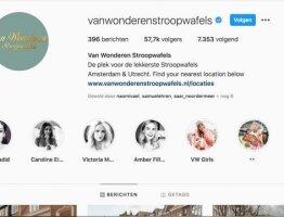 Online Marketing and Social media at van Wonderen