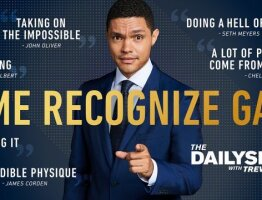 Comedy Central Emmys Art: The Daily Show