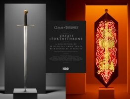 Create #ForTheThrone: Beric's Sword