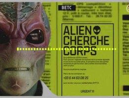 Alien cherche corps