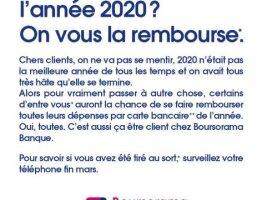 Boursorama Banque Vous Rembourse l'Année 2020