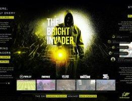 The Bright Invader case board