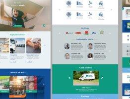 Qwik - homepage UI design
