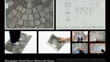 Newspaper Sized Peace Memorial Venue