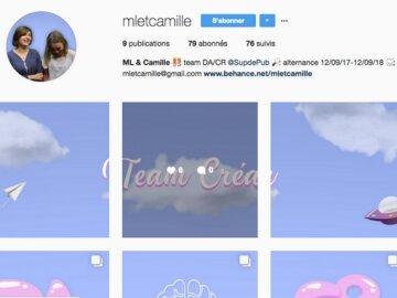 Un team créatif dévoile un super CV sur Instagram