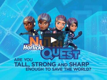 Horlicks - NutriQuest Game Trailer | July 2015