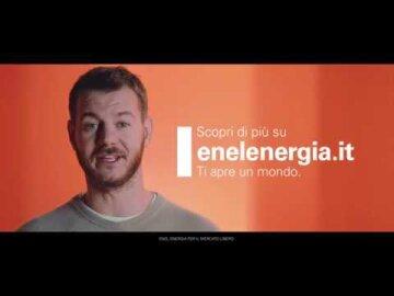 Enel Energia ti apre un mondo spensierato.