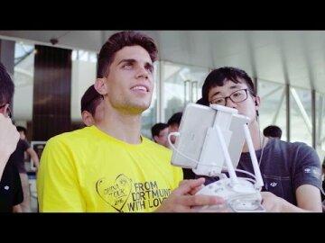 DJI – DJI v Borussia Dortmund, China Tour Partner