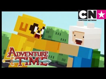Adventure Time Minecraft | Cartoon Network