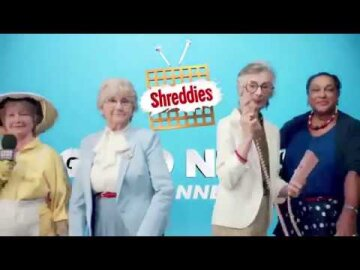 Shreddies Nanas Good News Team